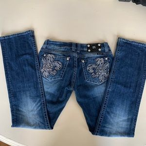 Two Pairs Of Miss Me Jeans